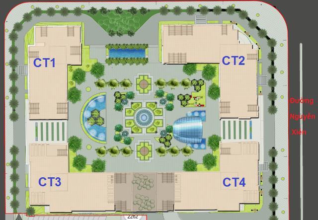 Mặt bằng tổng thể eco green city