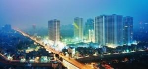 Royal City nổi bật khi phố xá lên đèn