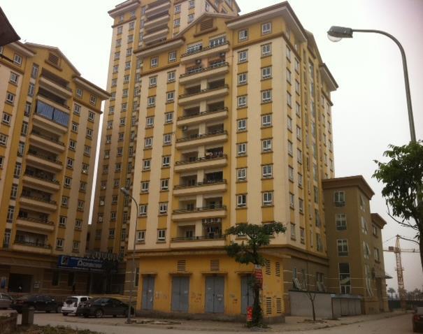 Tòa chung cư Mễ trì thượng của dự án