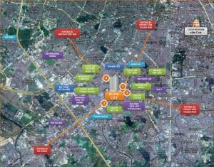 Tiện ích lân cận dự án Royal City