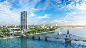 Vinpearl Riverfront Condotel hướng cầu sông Hàn