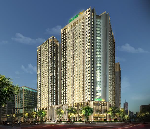 mặt tiền eco green city