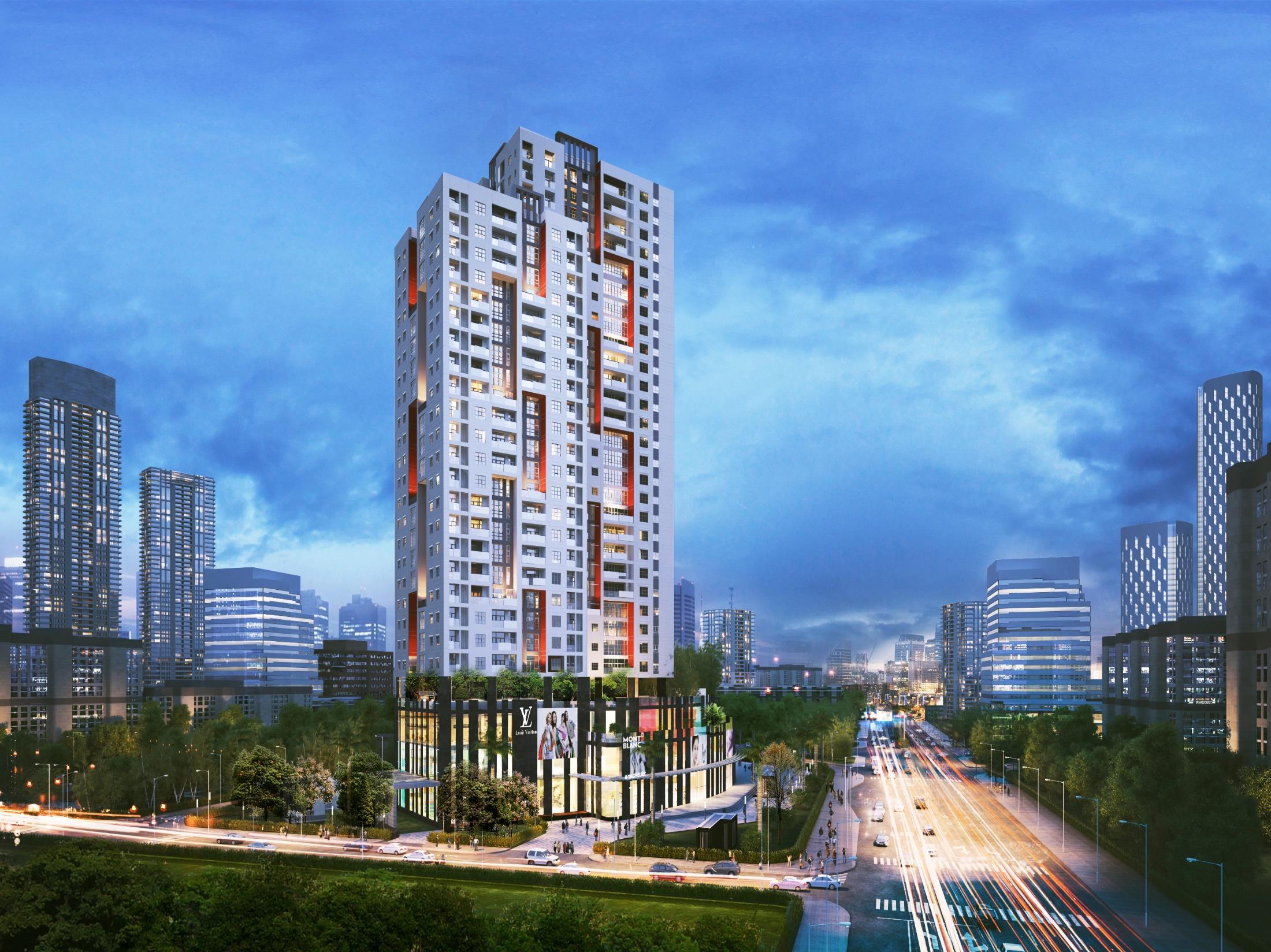 Phối cảnh tổng thể dự án Legend Park Văn Khê