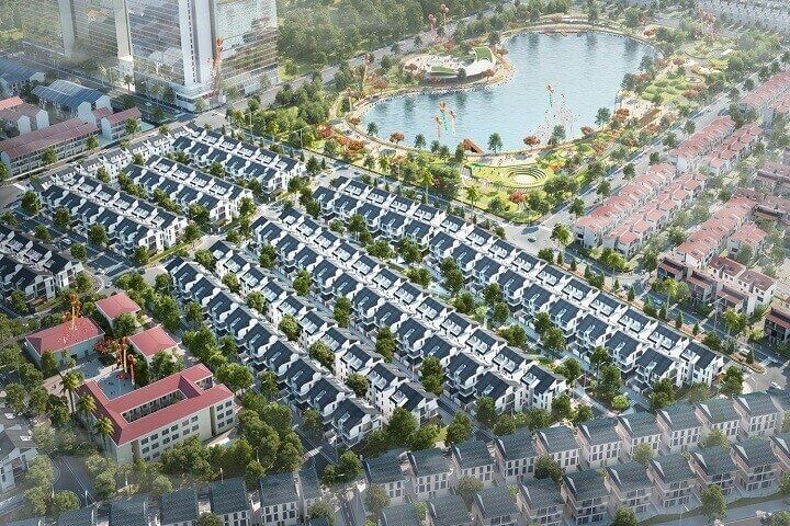 Biệt thự An Vượng villa siêu đô thị đẳng cấp