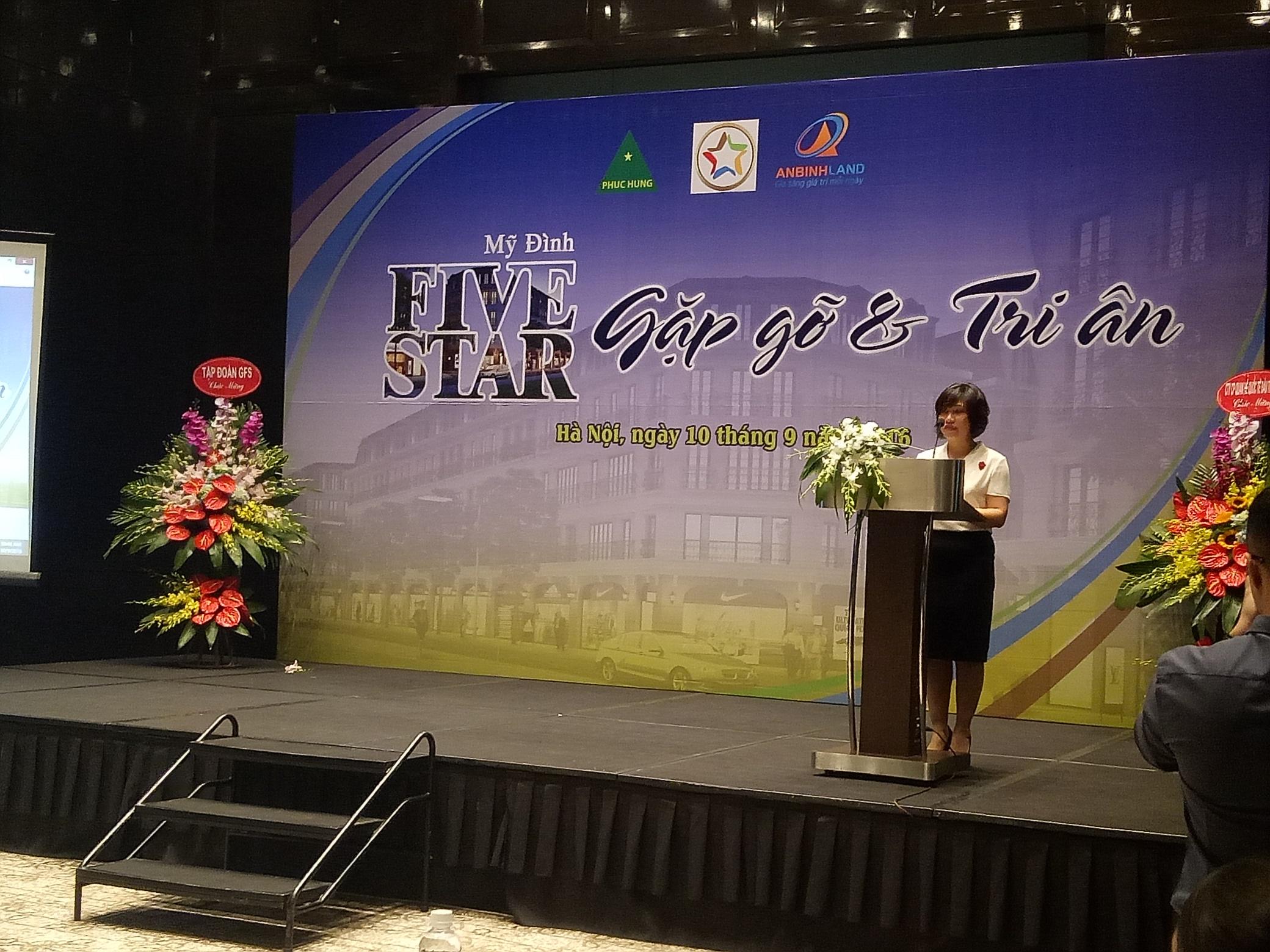 Lễ tri ân khách hàng dự án Five Star